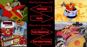 Robotnik: How they Interpreted Him by Crisis-Comics