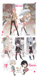 [CLOSED TY!_SP + Raffle!] DOP mixed batch by Skf-Adopt