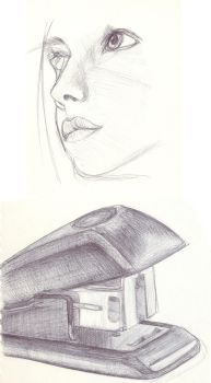 Ballpoint sketches by MMaS