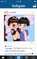 Instagram! [phan] by oh-no-Castiel