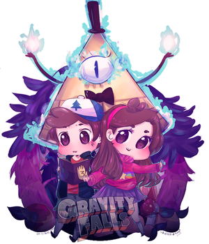 Gravity Falls by a-clash-of-kings