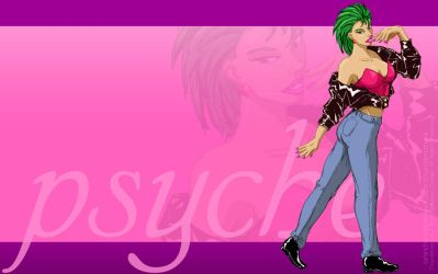 Psyche in Pink Wallpaper by Thunderstruckcomic