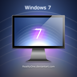 Windows 7 'lines' by RealityOne