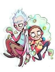Rick and Morty by starblinx