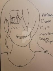 Rough Draft of Kimberly Cheney  by KiwiSylveon
