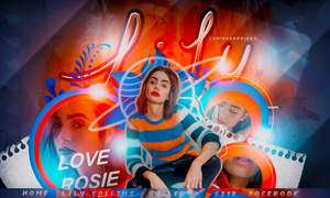 +LOVE ROSIE by LupishaGreyDesigns
