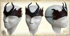 Leather crown 42 by Eternal-designs-com