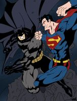 Batman vs. Superman by edCOM02
