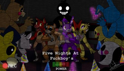 FNAF: Five Nights At Fuckboy's cover by Crystalchan2D