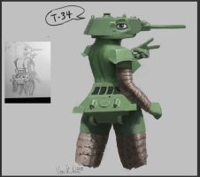 T-34/76 by VonKickass