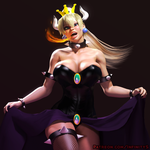 Bowsette render by InfinitySign