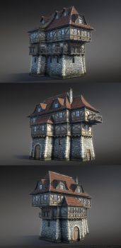 Fantasy House 08 by Sergey-Ryzhkov