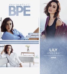 Photopack 27290 - Lily Collins by southsidepngs