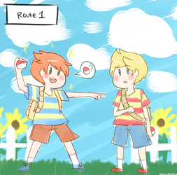 Journey with my Brother and Rival by MemoriiMakiko