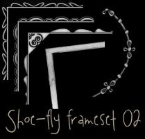 Photoshop frame set 02 by shoe-fly
