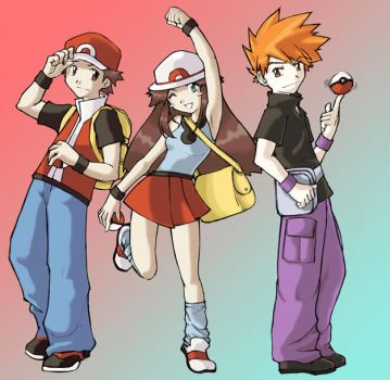 pokemon group color by Solla777