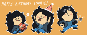 Happy Birthday Sophie!! :D by IvaTheHuman
