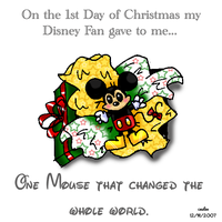 12 Disney Days of Christmas by caleigh