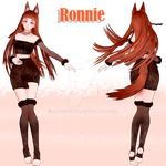 [[Reference]] Ronnie #New OC by MachtPizza