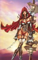 Red Riding Hood: Assassin by jamietyndall