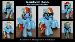 Rainbow Dash with Sunglasses by EQSilverbolt