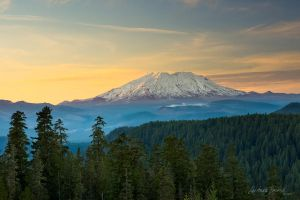 St. Helens Sunset by LAlight