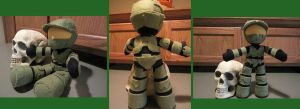 Halo Plush - Master Chief by samanthawagner