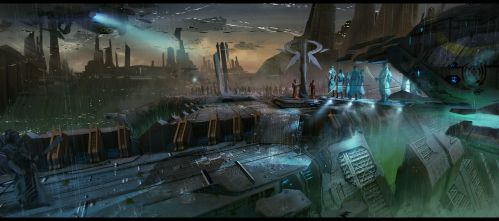 Magi- Rooftop arrival by bradwright