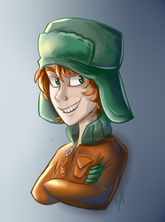South Park, Kyle by HecticWu