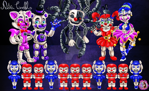 FNaF SL - Family Photo by NadiaCoelho