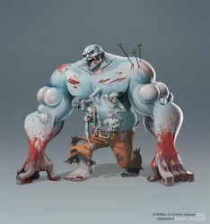 Zombie Boss by bib0un