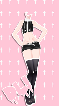 .:MMD:. Tda Outfit No More DL by SweetGirlRadioactive
