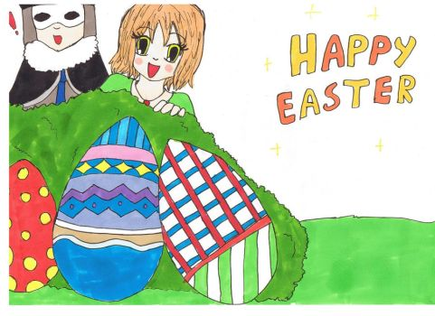Easter by Chibiklompen