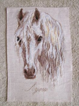 The horse Moon cross stitch by Dash-Ing-Nerro