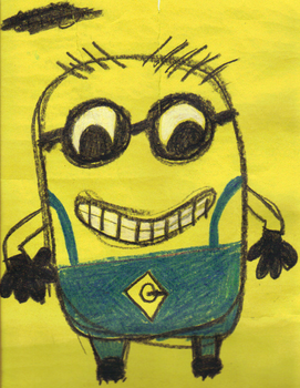 Minion:) by FishesbeFishes