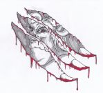 Demon Within Tattoo Design by dracontologe