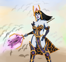 Wretched Hottie - Heroes of Newerth by gonesketchy