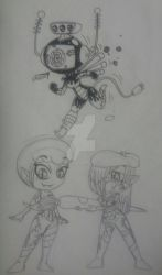 Skeleton - Chibi Collection - 1 by PlayboyVampire