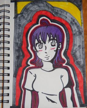 Sharpie Girl by starbolt77