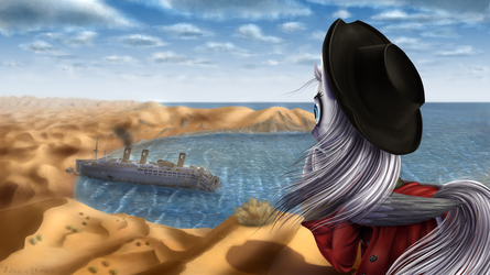Seaside Town in the Marejave by Fallout-Brony