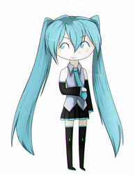 Miku by ScarisWolf