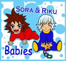 .:Sora and Riku Babies:. by KnoxOneBack