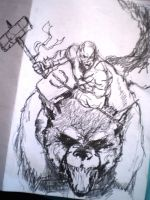 Azog the Defiler by force2reckon