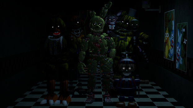 Welcome to Fazbear's fright the horror attraction by D-Okhapkin
