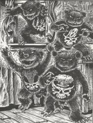 TMNT by Eastman and Laird- Terror Bears by FringerFrankie