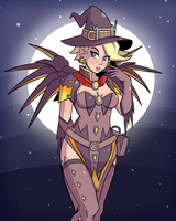 Witch Mercy by TCullenDA