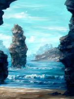Ocean View by PixelObsession