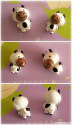Cow charms by Icesplendor