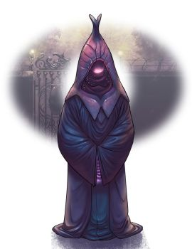Hooded-figures- the shell by Onikaizer