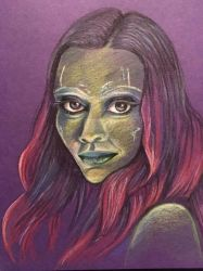 Gamora by BlossomBrooks